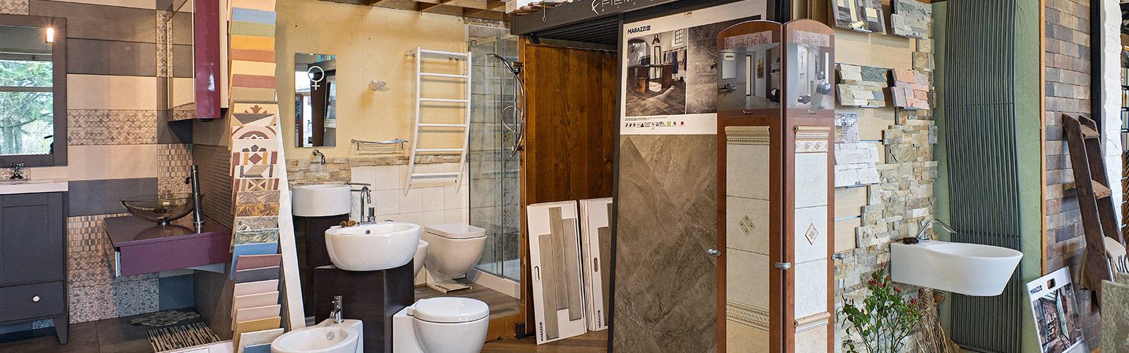 ... vende pavimenti, rivestimenti e arredo bagno delle migliori marche
